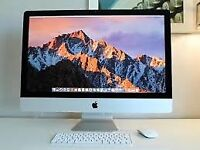 "APPLE IMAC 27"" SLIM WANTED"