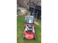 Sovereign self propelled petrol lawn mower 2015