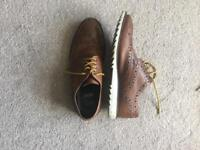 Smart unusual Brogues size 10 hardly used .