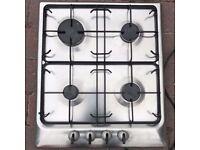 Zanussi gas hob stainless steel (model: zgl 62 ix)