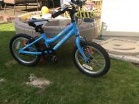 Ridgeback melody 16 inch wheels kids bike with stabilisers immaculate condition
