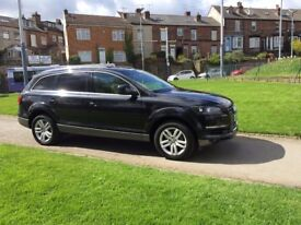 AUDI Q7 not bmw x5, range rover, mercedes , VW, FORD