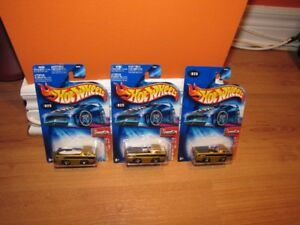 Group 44 First Edition Hot Wheels Tooned Deora's Variations.