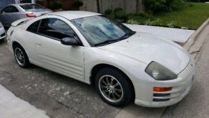 2002 Mitsubishi eclipse new parts with receipt $2500/trades