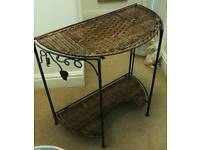 Small Foldable Console Table.