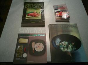 4 livres de cuisine