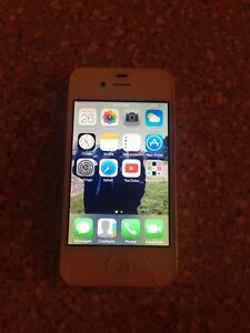iPhone 4 - cracked screen but works great!