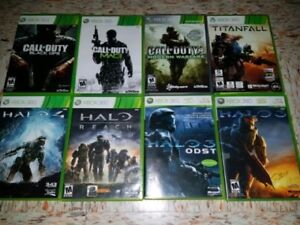 XBOX 360 Shooting Games (Various Prices) `
