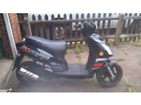 """SCOOTER/MOPED Superbyke POWERBAND R 50 """"BARN FIND"""""""
