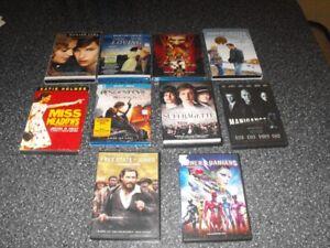 Lot de 700 dvd + 350 Bluray + coffret de série