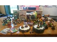 Skylanders Wii - HUGE collection with Giants and Swap Force