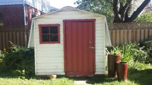 Cabanon - backyard shed