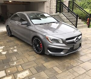 Lease takeover Mercedes Benz CLA45 AMG