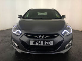 2014 HYUNDAI I40 STYLE BLUE DRIVE CRDI DIESEL 1 OWNER SERVICE HISTORY FINANCE PX