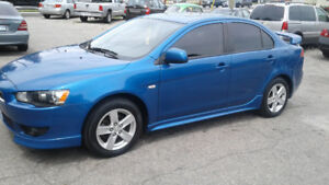 2009 Mitsubishi  Lancer With Leather sunroof and Alloys