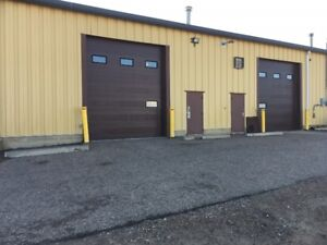 SHOP SPACE FOR LEASE