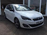 Peugeot 308 1.6 BlueHDi ( 120bhp ) ( s/s ) 2016MY GT Line Pearl White paint