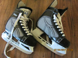 CCM Skates and helmets