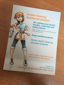 Offering house cleaning
