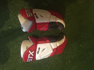 Cornell University Lacrosse gloves