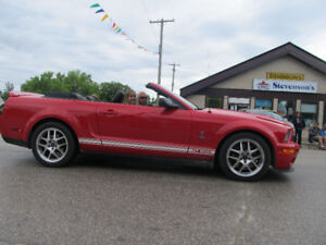 2007 Ford Mustang Convertible Shelby GT500 SVT