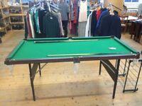 Amazing Foldaway Pool Table