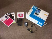 Handheld Pocket Windows PDA - HP IPAQ 4700 and accessories - As new, Still boxed.