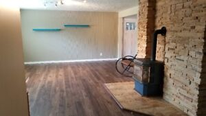 2 bedroom, 1 bath, East Hill, newly painted and floors!