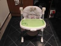 Graco Contempo High Chair (Benny & Bell Image)