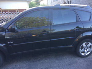 2005 Black Pontiac Vibe Damaged -All or for Parts - Offers