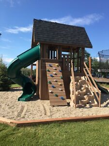 Giant Custom Play Structure