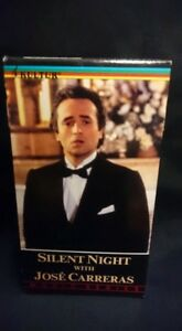 Silent Night With Jose Carreras VHS