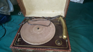 Antique record player, make me an offer
