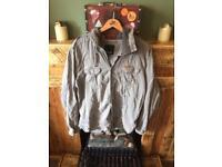 Bench khaki hoody shirt jacket xxl