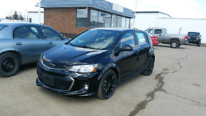 2017 Chevy Sonic Rs