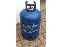 Free to a good home. Empty 13kg Calor gas bottle.