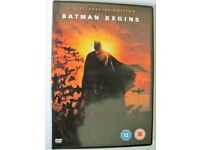 Batman Begins - (DVD, 2-Disc Set)