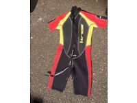 Wetsuit size sml