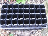 Root trainers no more pot bound plants.