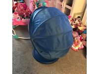 Ikea spinning tub children's chair
