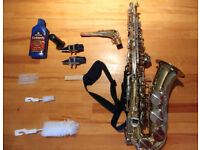Alto Saxophone. LAFLEUR Imported by Boosey & Hawkes.