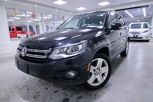 2014 Volkswagen Tiguan 2.0T 4 MOTION, ONE OWNER CLEAN CAR PROOF,