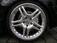 "19"" AMG ALLOYS WITH TYRES 5x112 FITS ANY MERCEDES QUICK SALE."