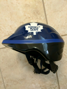 Maple Leafs Bike Helmet - kids small