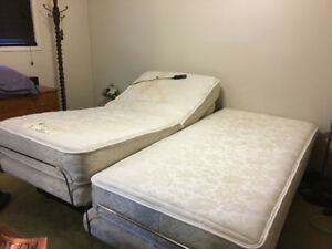 Adjustable Twin Beds