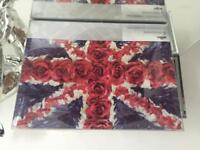 6 UNION JACK PLACEMATS - BOXED BRAND NEW