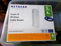 Netgear Super G wireless router