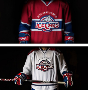 Looking for a St. John's IceCaps White Jersey!