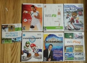 Complete Wii Base Unit BalanceBoard/Fitness Package + Extras