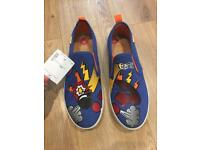 Geox shoes print cartoon new can post